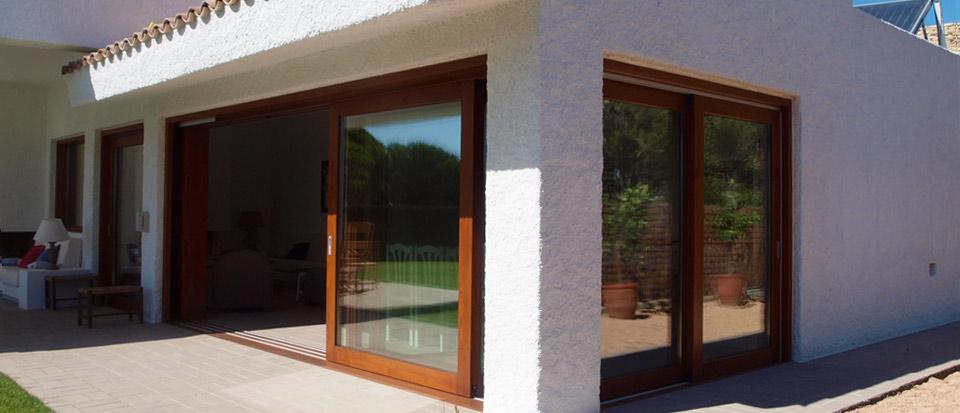 Nuevo proyecto ventanas de madera catalogo puertas de - Puertas de madera para jardin ...