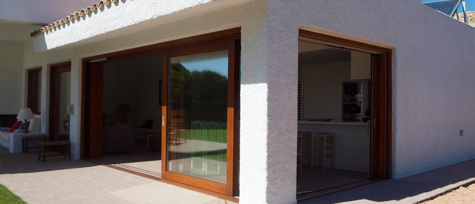 Nuevo proyecto ventanas de madera catalogo puertas de for Porticones madera exteriores